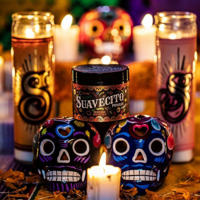 Suavecito Fall Pomade OG LTD 2019 in the group Hair and skincare / Pomade / Water soluble pomade at Sivletto - Skylark AB (SUA-956)