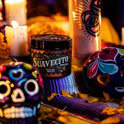 Suavecito Fall Pomade Firme LTD 2019 in the group Hair and skincare / Pomade / Water soluble pomade at Sivletto - Skylark AB (SUA-957)