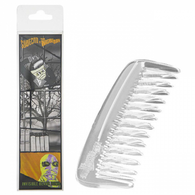 Suavecito The Invisible Man Beard Comb LTD in the group Hair and skincare / Combs at Sivletto - Skylark AB (SUA-966)