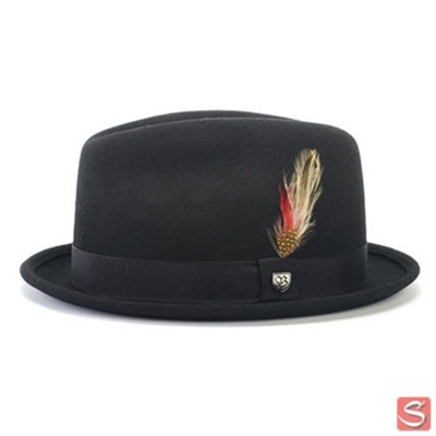 Brixton Gain Hat Black in the group Men / Headwear / Hats at Sivletto (W2748)