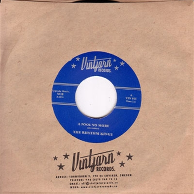 The Rhythm Kings - A Fool No More / Leave My Woman Alone in the group Misc / Music / Vinyl at Sivletto (W2816-002)
