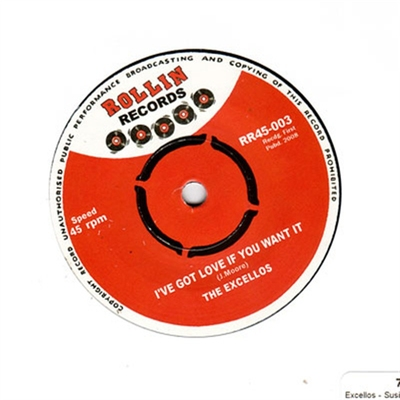 The Excellos - I've Got Love If You Want It / Susie-Q in the group Misc / Music / Vinyl at Sivletto (W2840-001)