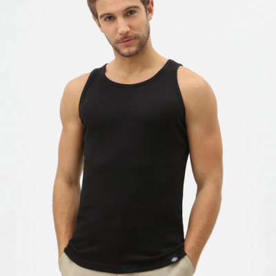 Dickies Proof Vest Black in the group Men / Undergarments / Tank tops/vests at Sivletto - Skylark AB (W3311)