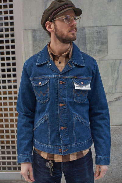 Wrangler Icons Western Jacket in the group Men / Jackets and coats at Sivletto - Skylark AB (W4MJUG301)