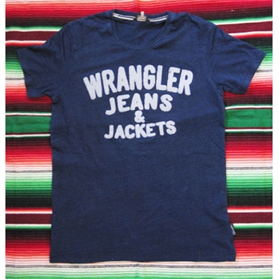 Wrangler S/S History T Indigo in the group Clearance / Men / T-shirts at Sivletto (W5754)