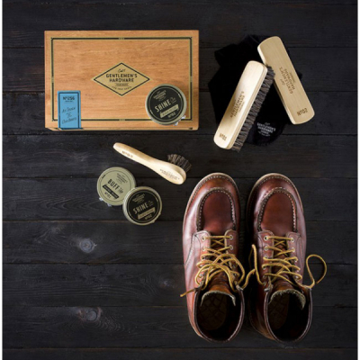 Gentlemen's Hardware Cigar Box Shoe Shine Kit in the group Men / Shoe care at Sivletto - Skylark AB (WAWGH256)
