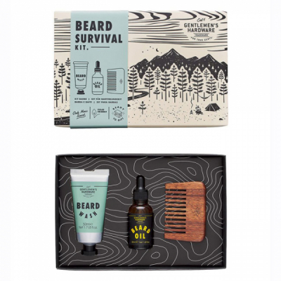 Gentlemen's Hardware Beard Buddy Kit in the group Hair and skincare / Mustache and beard / Beard Wash at Sivletto - Skylark AB (WAWGH345)