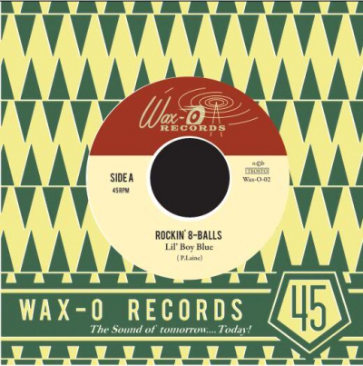 The Rockin' 8-balls - I Rest My Case / Lil' Boy Blue in the group Music & Film / Music / Vinyl at Sivletto - Skylark AB (Wax-O-02)