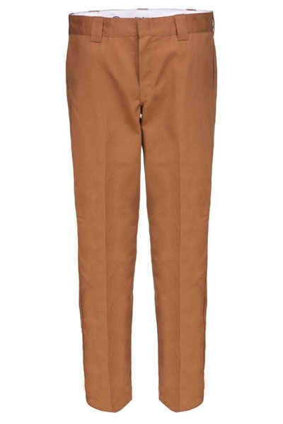 Dickies 873 Slim Straight Work Pant Brown duck in the group Sale! / Men / Trousers at Sivletto - Skylark AB (Wp873BD)