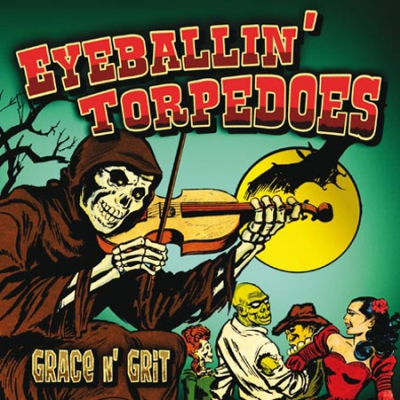 Eyeballin' Torpedoes - Grace n' Grit (Vinyl EP) in the group Music & Film / Music / Vinyl at Sivletto - Skylark AB (ZS-45)