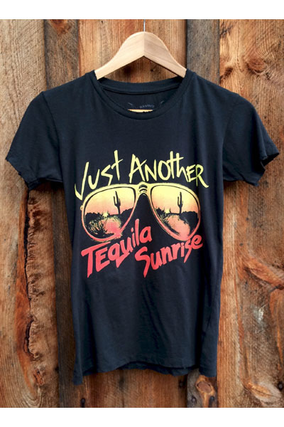 Bandit brand Tequila Sunrise Womens Tee  in the group Women / Blouses, tops & t-shirts at Sivletto - Skylark AB (bb3)