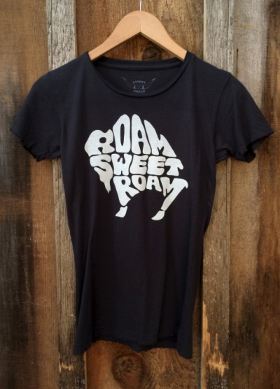 Bandit Brand Roam Sweet Roam Womens Tee in the group Women / Blouses, tops & t-shirts at Sivletto - Skylark AB (bb4)