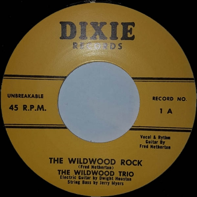 Wildwood Trio - The Wildwood Rock / Dear What About You in the group Misc / Music / Vinyl at Sivletto - Skylark AB (dixie-1)