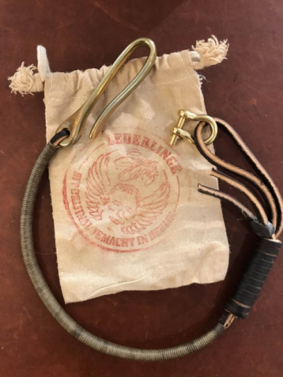 Emma Opitz Lederlinge Karl Lanyard Brass 36 in the group Clearance / Men / Misc at Sivletto - Skylark AB (eol-karlbrass-36)