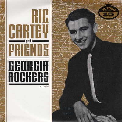 Ric Cartey and Friends- Georgia Rockers (EP) in the group Misc / Music / Vinyl at Sivletto (et15003)