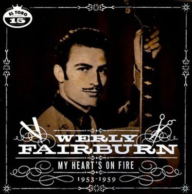 Werly Fairburn - My Heart's On Fire in the group Misc / Music / CD at Sivletto (etcd1043)