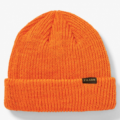 Filson Watch Cap Flame in the group Men / Headwear / Beanies at Sivletto - Skylark AB (filson-11030235-flame)