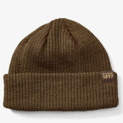 Filson Watch Cap Otter Green in the group Men / Headwear / Beanies at Sivletto - Skylark AB (filson-11030235-otter)