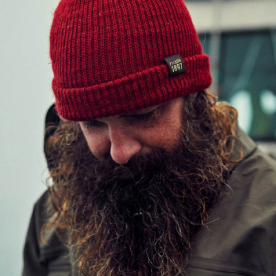 Filson Watch Cap Red in the group Beanies at Sivletto - Skylark AB (filson-11030235-red)