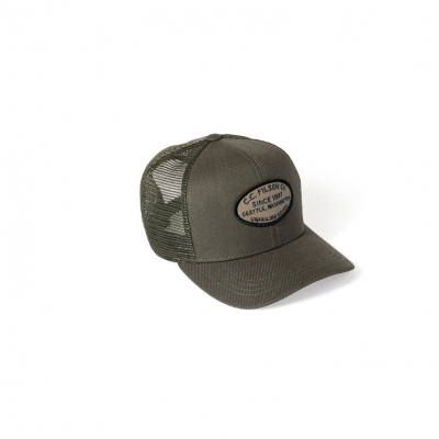 Filson Buckshot Twill Mesh Cap Navy in the group Men / Headwear / Trucker/baseball caps at Sivletto - Skylark AB (filson-20051029-green)