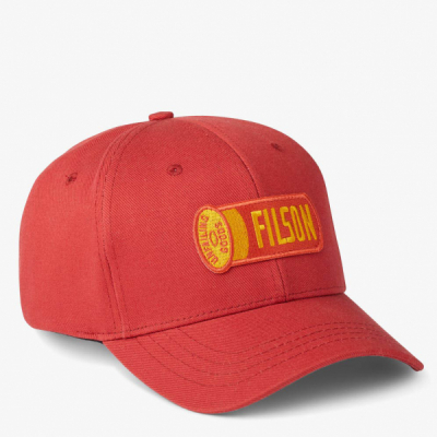 Filson Logger Cap Cardinal Red in the group  at Sivletto - Skylark AB (filson-20173384-cardinal)