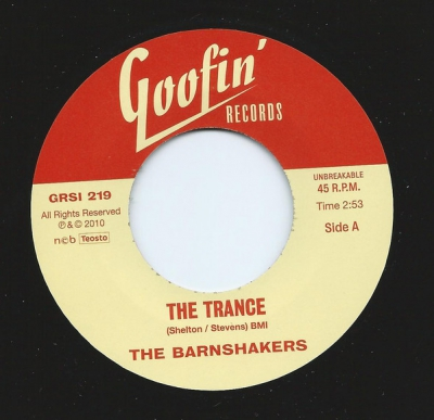 Barnshakers - The Trance / Let Me Tell You About Love in the group Music & Film / Music / Vinyl at Sivletto - Skylark AB (grsi-219)