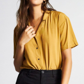 Brixton Naomi short sleeve top
