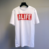 Alife Basic Stuck Up Tee White