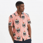 Dickies Blossvale shirt flamingo