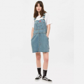 Dickies Hopewell Bib Dress Light Bleach