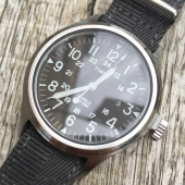 Timex Scout Brook Stainless Steel Black Dial