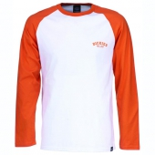 Dickies Baseball t-shirt energy orange