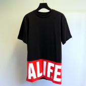 Alife Blocked Logo Tee Black