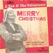 J.Tex & The Volunteers - Merry Christmas (CD)