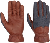 Stetson Gloves Goat Nappa/Denim