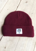 Jernhest Bertie the Beanie burgundy