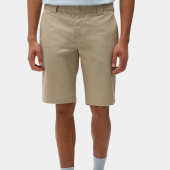 Dickies Slim Fit 13 inch Shorts Khaki