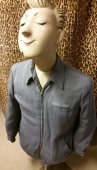 Men's Vtg 50s Lined Gabardine Jacket size large