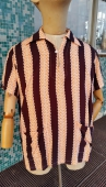 Vintage Men's 50s Rayon Beach Shirt Phil Kronfeld size L