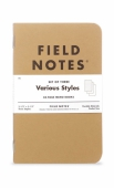 Field Notes Mixed 3-pack