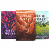 Field Notes National Parks - Series B: Grand Canyon, Joshua Tree, Mt. Rainier