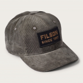 Filson All Cord Logger Cap Otter Green