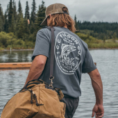 Filson Outfitter Graphic Tee Blue Steel