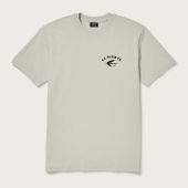 Filson Outfitter Graphic Tee Fishing Light Stone