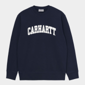 Carhartt University Sweatshirt Dark Navy / White