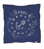 Iron & Resin Piston Flag Navy Bandana