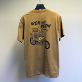 Iron & Resin Smokey Tee Olive