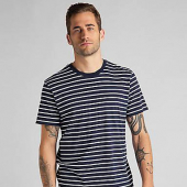 Lee Stripe Tee Navy