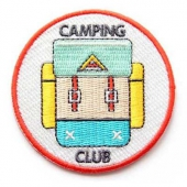 Mokuyobi Camping club patch