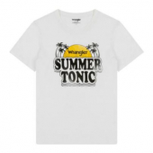 Wrangler Summer Tonic Tee White